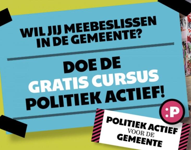 Cursus Politiek Actief in Roermond!